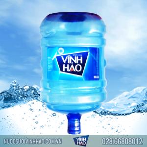 Nước khoáng Vĩnh Hảo 20 lít bình úp