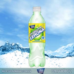 Nước khoáng Chanh Vĩnh Hảo Lemona 500 ml